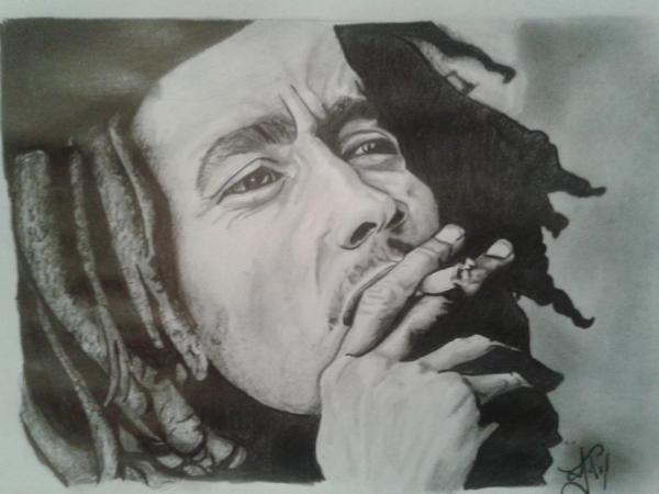 Bob Marley par leomonge24